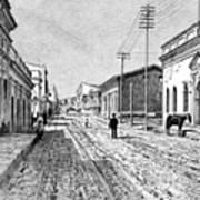 Asuncion, Paraguay, 1895 Art Print
