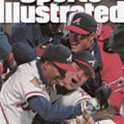 Atlanta Braves, 1995 World Series Sports Illustrated Cover Art Print