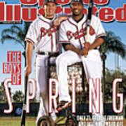 Atlanta Braves Freddie Freeman And Jason Heyward Sports Illustrated Cover Art Print