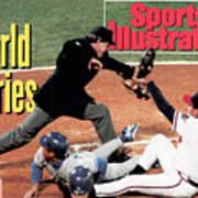 Atlanta Braves John Smoltz, 1992 World Series Sports Illustrated Cover Art Print