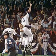 Atlanta Braves V New York Yankees Art Print