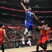 Atlanta Hawks V La Clippers Art Print