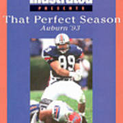 Auburn University Ace Atkins, 1993 Ncaa Perfect Season Sports Illustrated Cover Art Print
