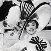 Audrey Hepburn As Eliza Doolittle Art Print