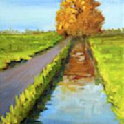 August Landscape Art Print