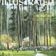 Augusta National Golf Course, 1960 Masters Preview Sports Illustrated Cover Art Print