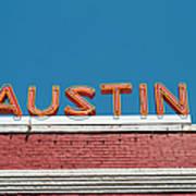 Austin Neon Sign Art Print