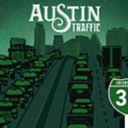 Austin Traffic Art Print