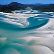 Australia,whitsunday Island, Whitehaven Art Print