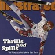 Austria Herman Maier, 1998 Winter Olympics Sports Illustrated Cover Art Print