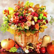 Autum Harvest Art Print
