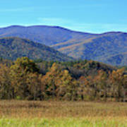 Autumn Colours In Great Smoky Mountains National Park Art Print