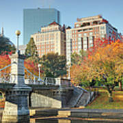 Autumn In Boston Art Print