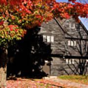 Autumn In Salem Art Print