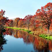 Autumn In Wisconsin Art Print