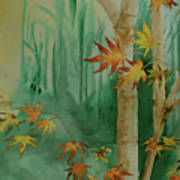 Autumn Leaves - #1 Art Print