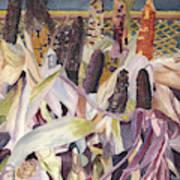 Autumn Maize Art Print