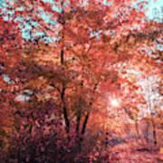 Autumn Path Reimagined Art Print