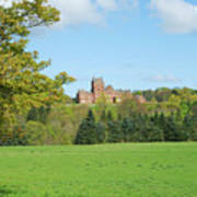 Ayton Castle From South, Berwickshire Art Print