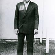 Babe Ruth Votes For Al Smith Art Print