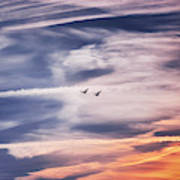 Back To The Sky Art Print