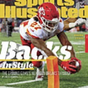 Backs In Style The Ground Games Next Gen Breaks Through Sports Illustrated Cover Art Print