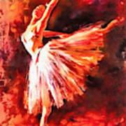 Bailarina Art Print