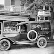 Bakery Car, C1915 Art Print