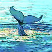 Balene-whales Art Print