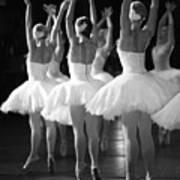 Ballerinas On The Stage Art Print