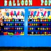 Balloon Pop Art Print