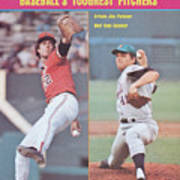 Baltimore Orioles Jim Palmer And New York Mets Tom Seaver Sports Illustrated Cover Art Print