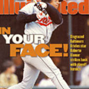 Baltimore Orioles Roberto Alomar, 1996 American League Sports Illustrated Cover Art Print