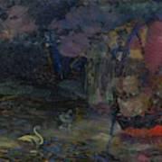 Baranoff-rossine Vladimir  1888-1944  Fairy Lake Art Print