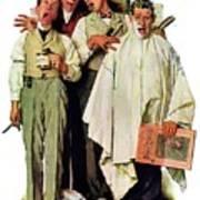 Barbershop Quartet Art Print