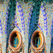 Barcelona Mosaic  Art Print