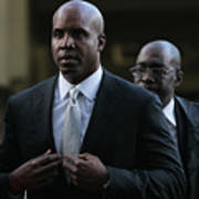 Barry Bonds Perjury Trial Begins In San Art Print