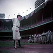 Baseball Great Babe Ruth, In Uniform Art Print