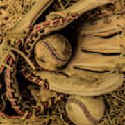 Baseball Mug Art Print