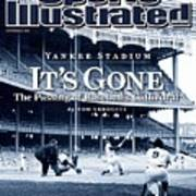 Baseball New York Yankees Micke... Sports Illustrated Cover Art Print