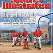 Baseball Sweet Baseball Why Spring Training Feels So Good Sports Illustrated Cover Art Print