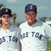 Baseball - Ted Williams - File Photo Art Print