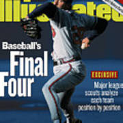 Baseballs Final Four Will John Smoltz And The Braves Hold Sports Illustrated Cover Art Print
