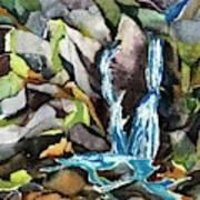 Bash Bish Falls - 3 Art Print
