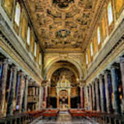 Basilica Di San Crisogono Art Print