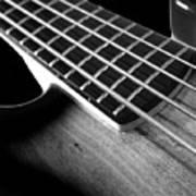 Bass Guitar Musician Player Metal Rock Body Art Print