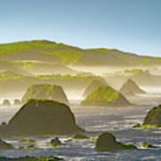 Bay In California Art Print