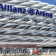 Allianz Arena Bayern Munich  Art Print