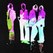 Beatles Watercolor II Art Print
