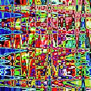 Beaujolais Abstract Art Print